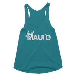 Teal Just Maui'd Tank